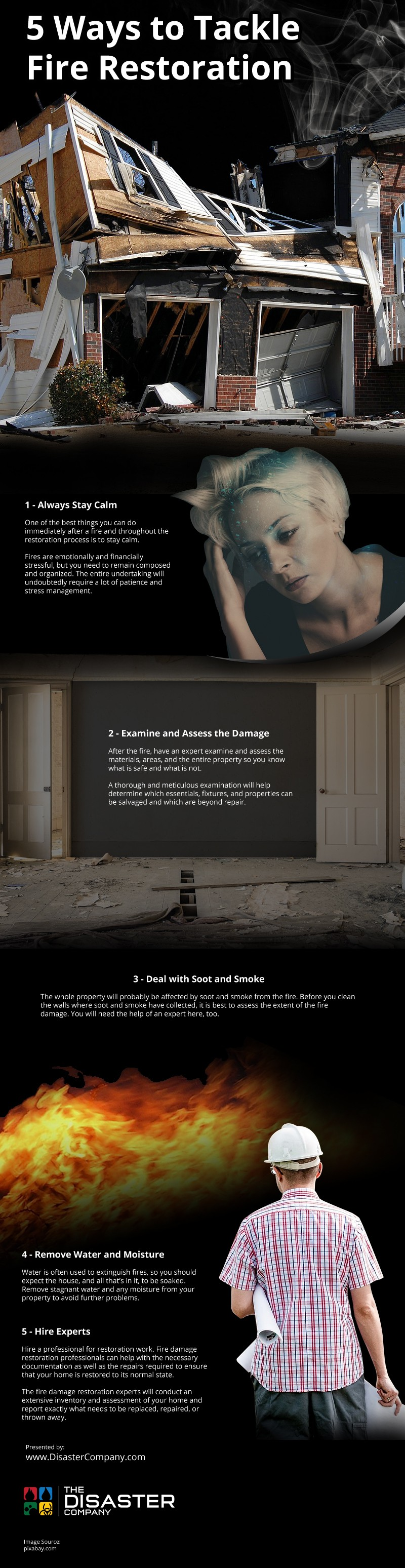 5 Ways to Tackle Fire Restoration [infographic]